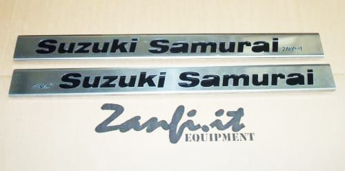 Protezione sottoporta in duralluminio per Samurai a passo corto – Zmode