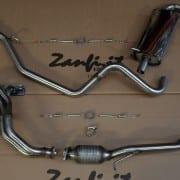 Kit scarico completo inox 4-2-1 per Jimny benzina 2 tipo (2)