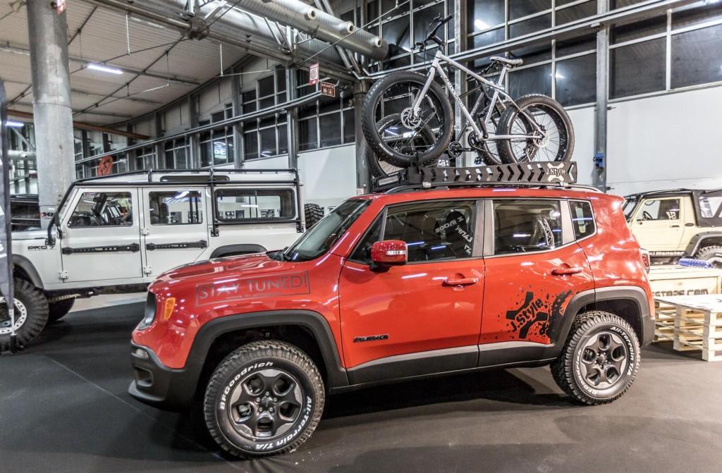 Kit adesivi per jeep renegade j style zmode for Kit per il portico anteriore