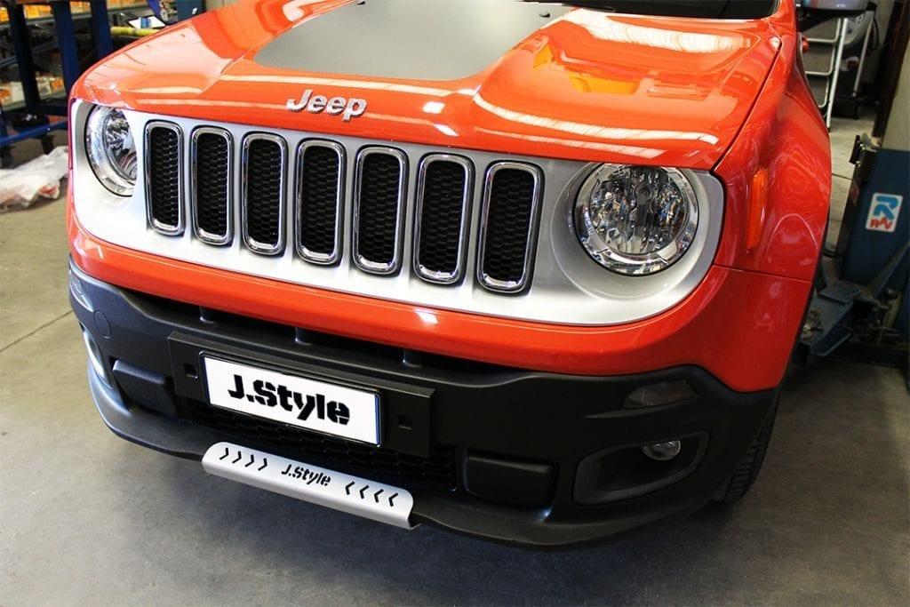 Slitta protezione motore Jeep Renegade J.Style zmode