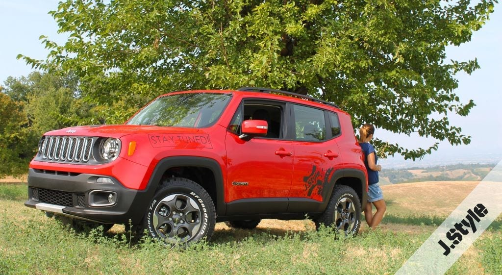 jeep renegade kit rialzo jstyle zmode
