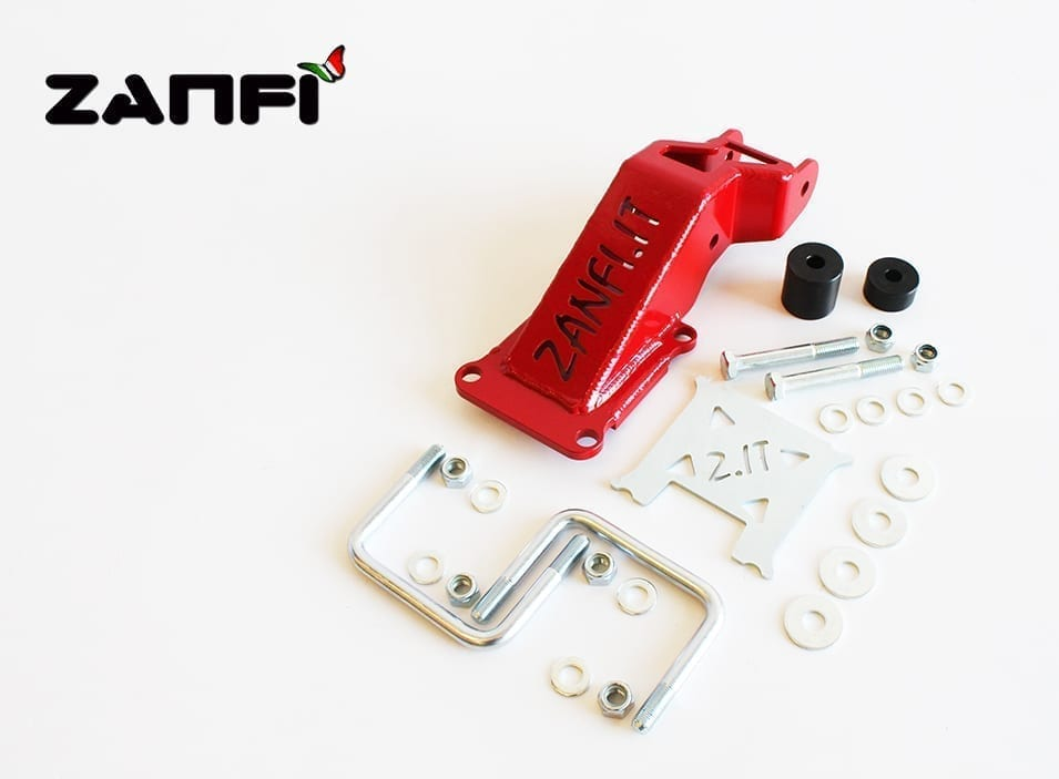 Riposizionatore barra panhard Ant. +80mm Avanzato 30mm