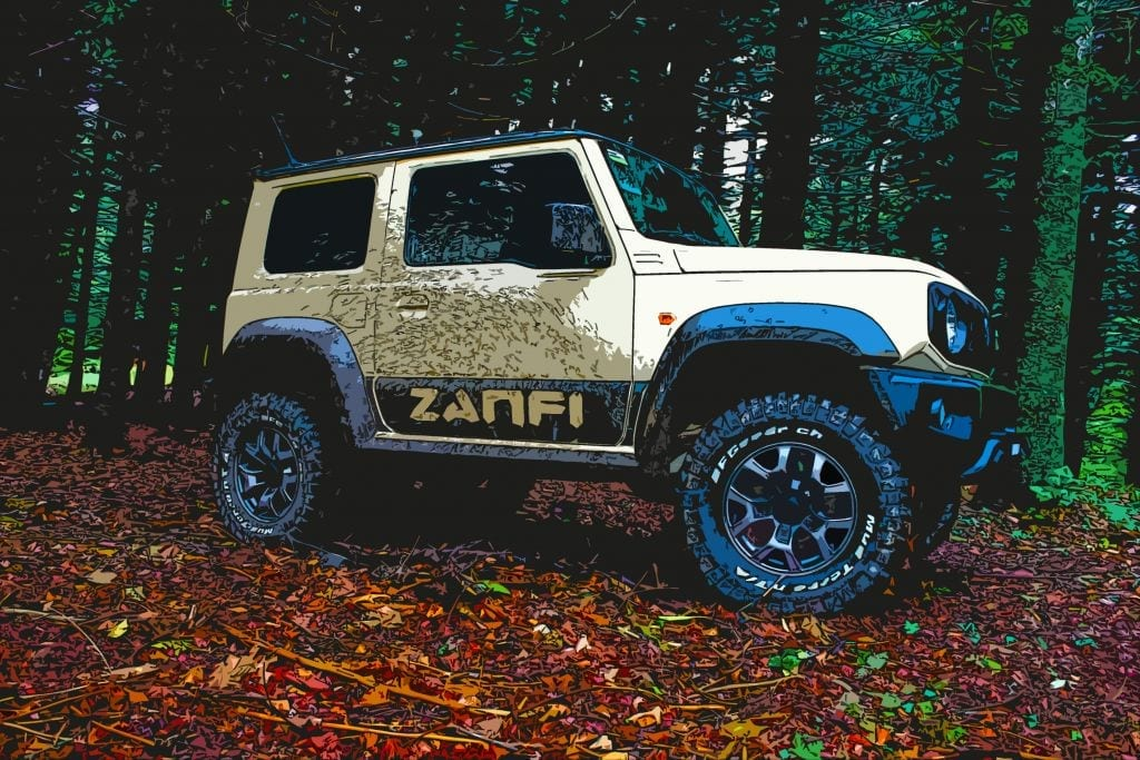 Jimny 2018 art of zanfi zmode